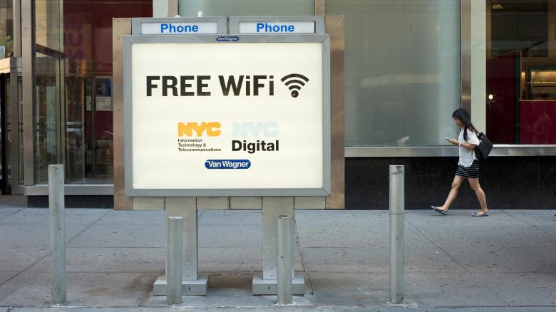 11000 محطة واي فاي مجانية ستغطي نيويورك