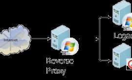 حماية مواقع الانترنت عن طريق الريفرس بروكسي Reverse Proxy